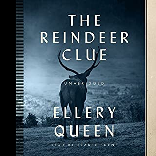 The Reindeer Clue audiobook cover art