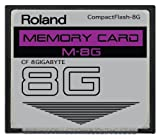 Roland 8GB M-8G CompactFlash CF Speicherkarte für MC-808, SP-404, SP-555, V-Synth, G-70, TD-20, Fantom & mehr