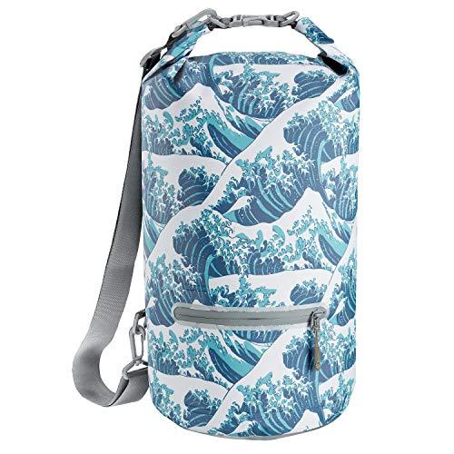 Skog Å Kust DrySak Waterproof Dry Bag | 10L Waves