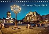 Die Blaue Stunde in Berlin (Tischkalender 2021 DIN A5 quer): Zum Ende des Tages zeigt Berlin noch einmal seine wunderschöne Seite. (Monatskalender, 14 Seiten )