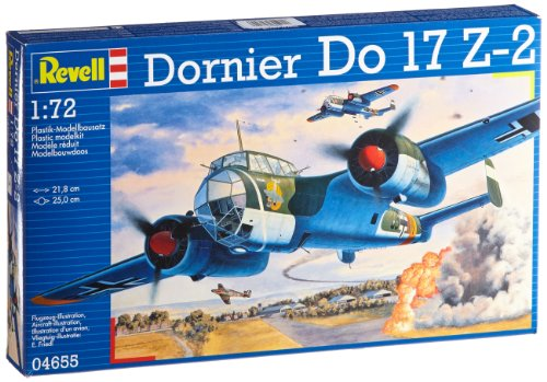 Revell 64655 - Set Modelo Dornier Do 17 Z-2 en 1:72