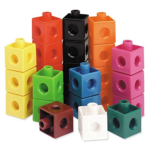 Learning Resources Snap Cubes, Educational Counting Toy, Set of 500 Cubes, Ages 5+