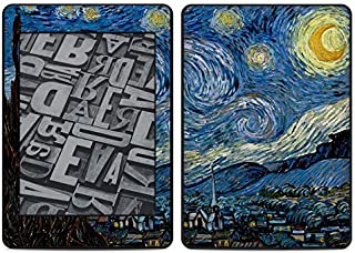 Starry Night Amazon Kindle Paperwhite 2018 Full Vinyl Decal - No Goo Wrap, Easy to Apply Durable Pro