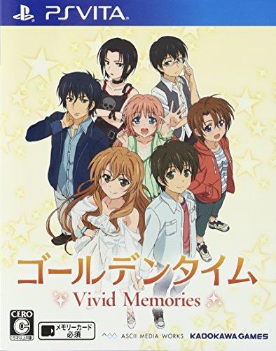 Golden Time Vivid Memories - Edition Standard [PS Vita][Importación Japonesa]