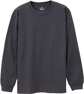 Hanes ヘインズ BEEFY-T Tシャツ ビーフィー 長袖 ロングTシャツ ロングスリーブ 長袖Tシャツ パックT ヘビーウエイト H5186