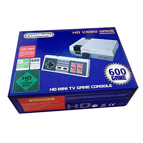 Family Mini Consola Construido en 600 Seccion Versiones Clásicas HDMI Videojuegos
