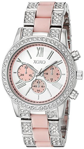 XOXO Women's Quartz Metal and Alloy Watch, Color:Silver-Toned (Model: XO5919)