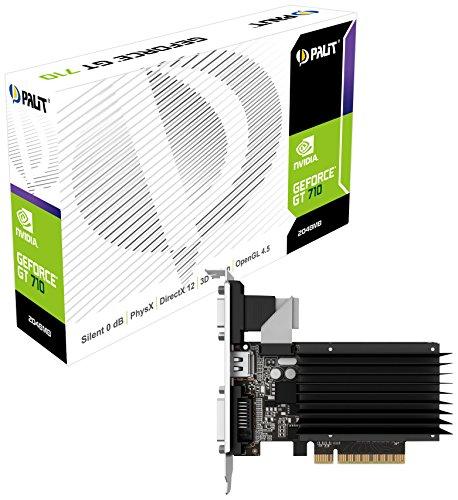 Palit NEAT7100HD46H GT710 2048MB Graphic Card NVIDIA (PCI-e GDDR3, VGA/DVI/HDMI, 1x GPU)
