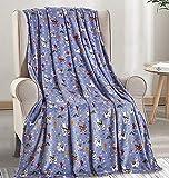 Décor&More Whimsy Collection Microplush Throw Blanket (50' x 60') - Llama Llama