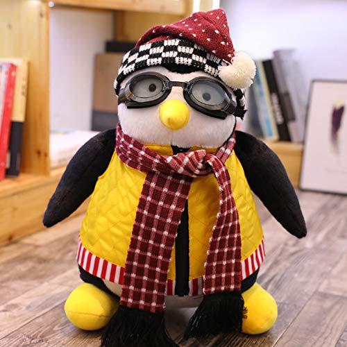 Hug Penguin Plüschtiere Pinguin Hugsy Plüsch Rachel Gefüllte Puppe Spielzeug Kuscheltierpuppen 27cm Größe