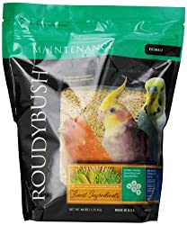 Roudybush Bird Food: Specially steam-pelleted food designed to retain beneficial nutrients while eliminating harmful bacteria. Give your birds the nutrition they need with no artificial colors or flavors and no animal by-products.