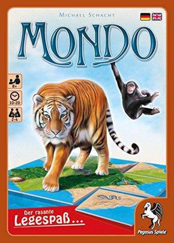 Pegasus Spiele 53105G - Mondo - Der rasante Legespaß