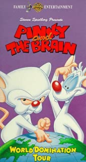 Pinky & The Brain: World Domination Tour VHS