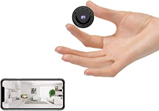 2021最新 小型カメラ 隠しカメラ 4k超高画質 広角150° 長時間録音録画 遠隔監視 動体検知 暗視機能 赤外線撮影 Wifi対応 防犯カメラ 室内 屋外 USB充電 IOS/Android対応 日本語取扱説明書付