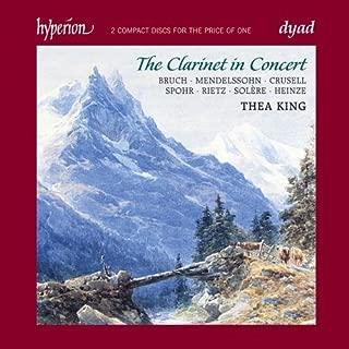 Clarinet in Concert, Concertos