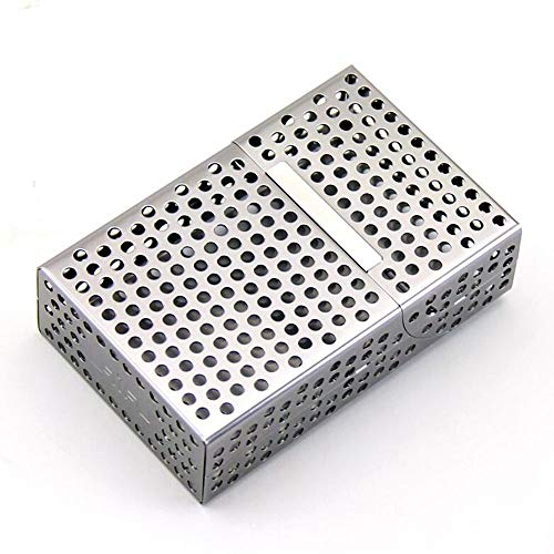 RDJSHOP Hohles Design Magnetspule Saugnapfschale Typ Herren Tragbare Kreative Zigarettenetui 20 Stück (Color : Gray)