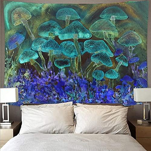 KHKJ Tapiz psicodélico Arte ilusorio Tela Colgante Tela de Fondo Abstracto decoración de la cabecera del hogar Tapiz decoración de habitación A11 150x130cm