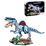 JOYFLY Dinosaurier Bauset, Dinosaurier Spielzeug Jurassic World für Kinder & Erwachsene Kompatibel mit Lego - Spinosaurus (2086 Teile)