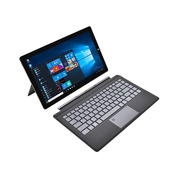 Winnovo-2-in-1-Laptop-Touch-Windows-10-64-Bit-133-Zoll-Notebook-FHD-IPS-Intel-Pentium-N4200-4GB-RAM-64GB-eMMC-AC-WiFi-Type-C-HDMI-USB-30-SSD-QWERTZ-Backlit-Tastatur-mit-Fingerabdruck-Grau