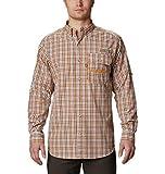 Columbia Camisa de Manga Larga Unisex Super Sharptail Super Sharptail, Unisex Hombre, 1565991, Canyon Gold Gingham, XL