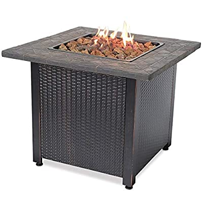 Endless Summer, GAD1420M, LP Gas Outdoor Fire Table, Multi Color
