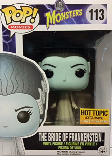 Funko Universal Monsters POP! Movies Vinyl Figure #113 The Bride of Frankenstein [Glow in the Dark]