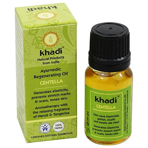 Khadi Huile Corps Centella Prévention Vergetures Tonifiante Rivitalisante Travel Size 10 ML