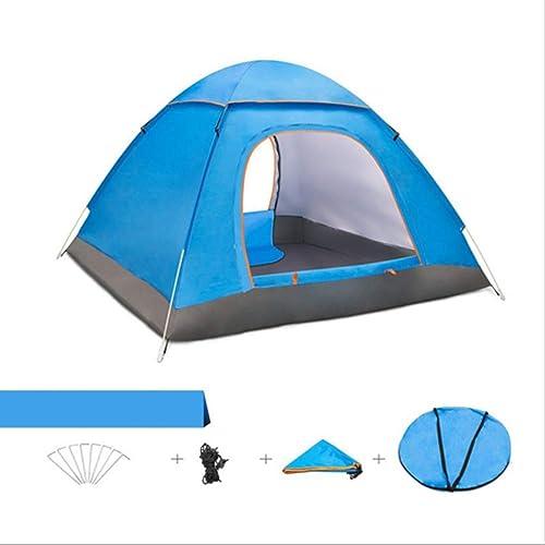HBRT Tente extérieure pour Parasol de Plage portableAnti UV pour extérieur 3 ou 4 Personnes résistant à l'eau 3-4 Saisons léger avec Sac