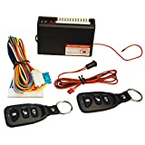 FICBOX Universal Car Door Lock Vehicle Keyless Entry System Auto Remote Central Kit with Control Box