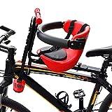 Cirdora Siege Velo Enfant Siège Avant Enfant Avant Vélo Siège Bébé Siège À Bicyclette,...