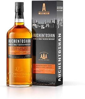 Auchentoshan American Oak Single Malt Scotch Whisky, mit Geschenkverpackung, erfrischender Geschmack, 40% Vol, 1 x 0,7l