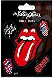 Gaowenytt The Rolling Stones (Tongue) Rock Art Poster Canvas Art Poster y Wall Art Picture Print Modern Family Bedroom Decor Posters-40x60CM Sin Marco