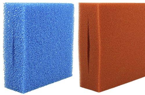 Ersatz Filterschwamm für Oase Biotec 5/10/30 blau+rot, Farbe:rot