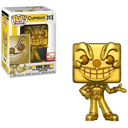 Funko Pop! Games #313 Gold King Dice (2018 E3 Exclusive) -  fm180430