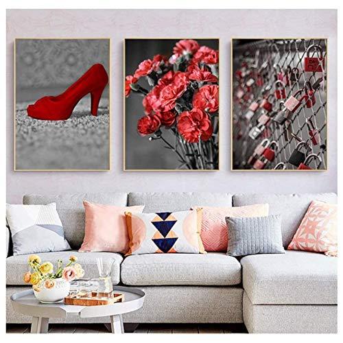 marco 20x30 rojo fabricante XingChen
