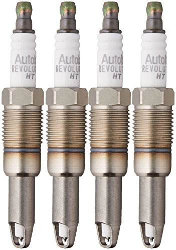 Autolite HT15-4PK Platinum High Thread Spark Plug, Pack of 4