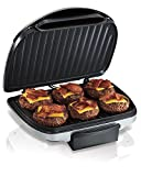Hamilton Beach Electric Indoor Grill, 6-Serving,...