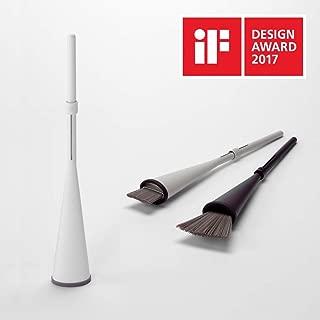 【カインズ】立つほうき 2017iFデザインアワード受賞品 グッドデザイン (ホワイト)