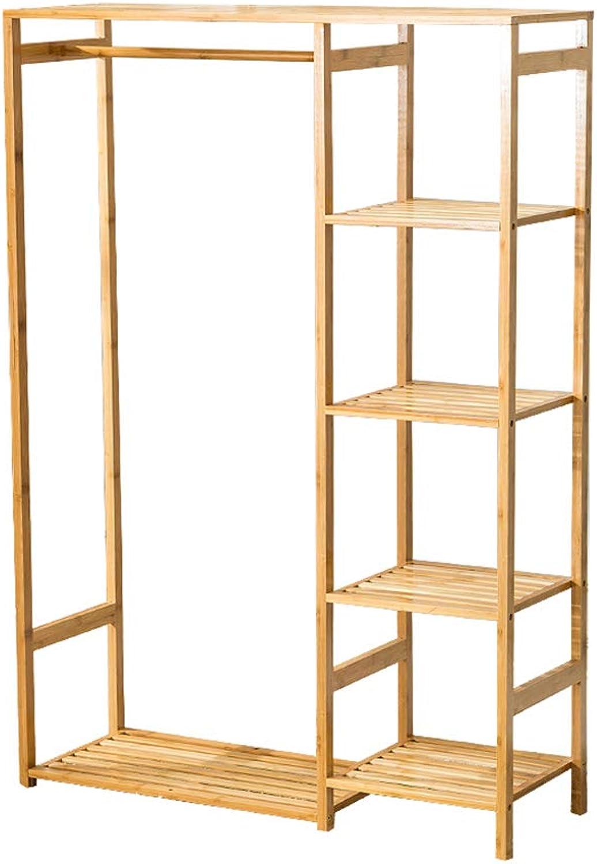 Coat Rack Hanger Rack Cabinet Storage Home Floor Type Multifunctional Wardrobe