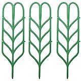 U/K dauerhaftBeliebte 3 Stück Mini DIY Blattform Garten Spalier Pflanzen Gittertöpfe Efeugurke mit...