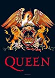 empireposter Queen - Crest - Posterflaggen Fahne - Größe 75x110 cm