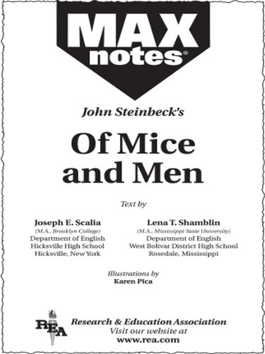 Of Mice and Men (MAXNotes Literature Guides) (English Edition)