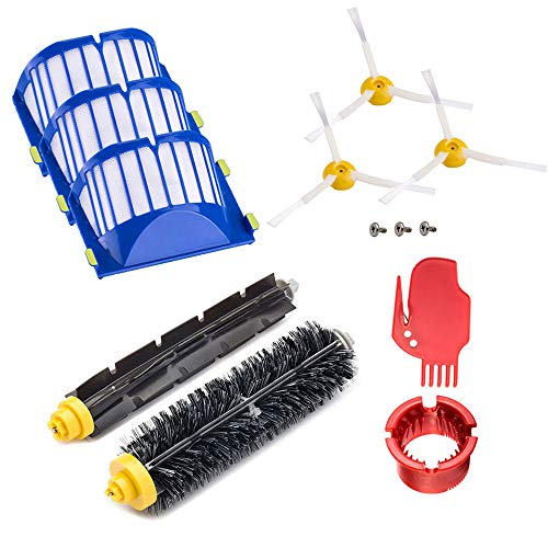 Neutop Replenishment Kit Brush Replacement for iRobot Roomba 675 665 655 645 Robot Vacuums ONLY.