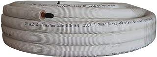 REPORSHOP   TUBO COBRE AISLADO 1/4' x 0,7mm 25 METROS INSTALACION AIRE UNI POLAR