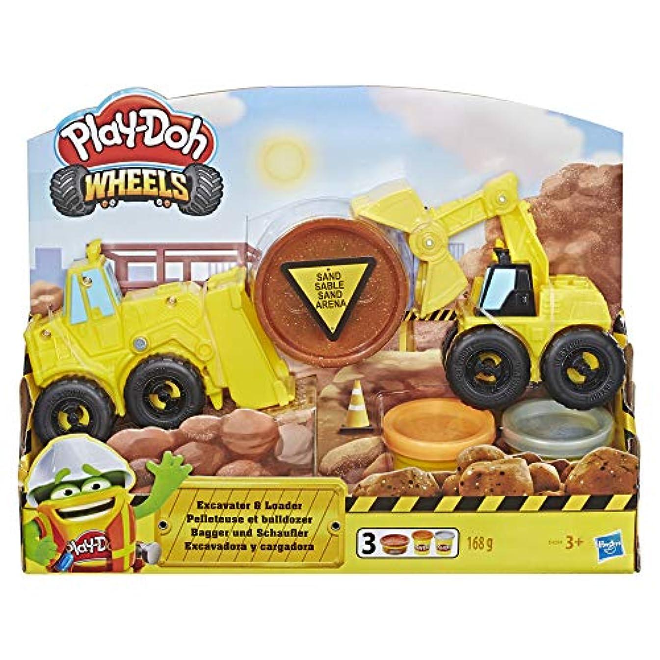 Play-Doh E4294EU5 PD Excavator N Loader, Multicolour