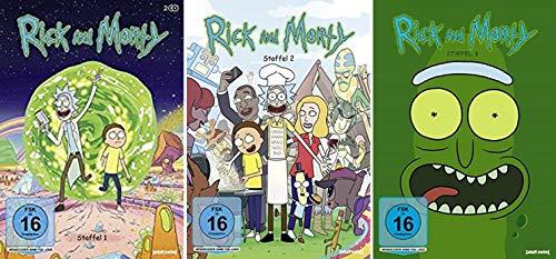 Rick & Morty Staffel 1-3 (1+2+3) [DVD Set]