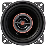 """CERWIN-VEGA Mobile H740 HED(R) Series 2-Way Coaxial Speakers (4"""", 275 Watts max), Black"""