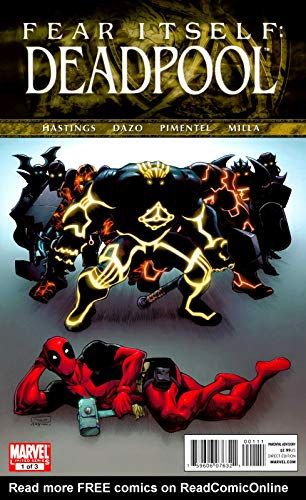 Deadpool Fear: Fear Itself Deadpool (English Edition)