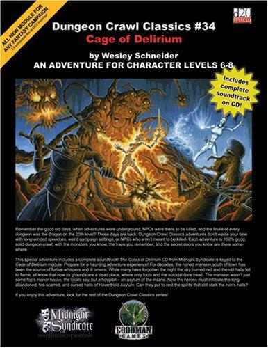 Dungeon Crawl Classics 34: Cage of Delerium