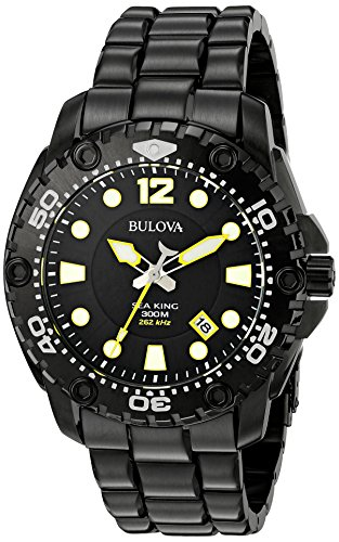 Bulova Men's 98B242 Sea King Analog Display Japanese Quartz...